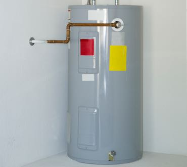 electrical hot water tank storage unit