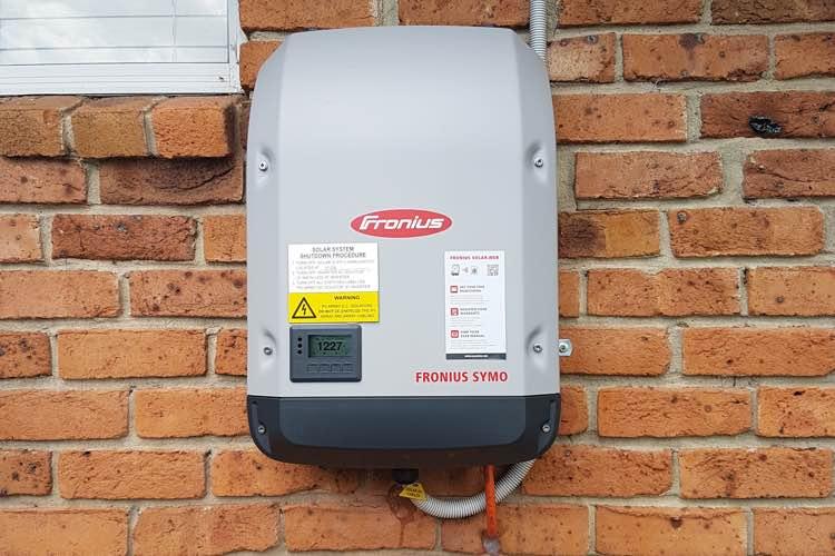 Fronius residential solar inverter