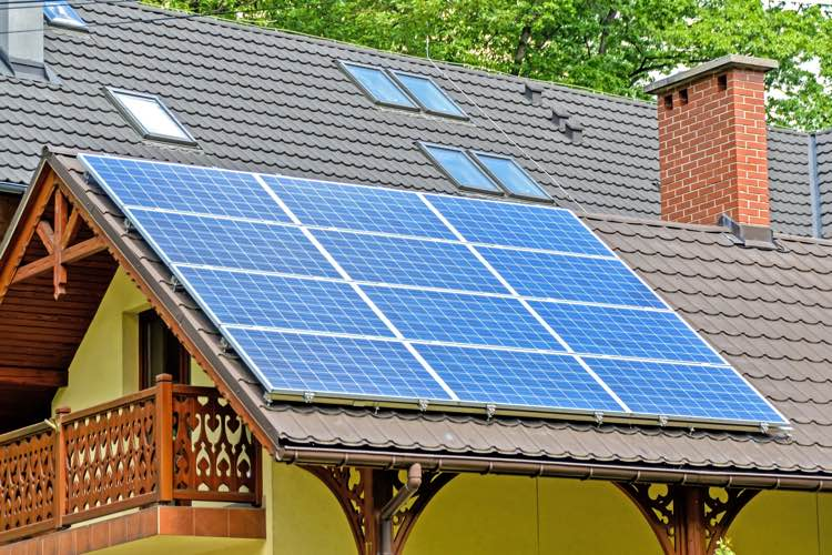solar residential home