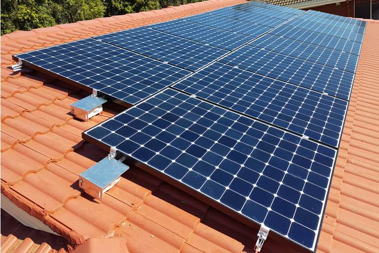 sydney solar panel installation residential ceramic rooftop