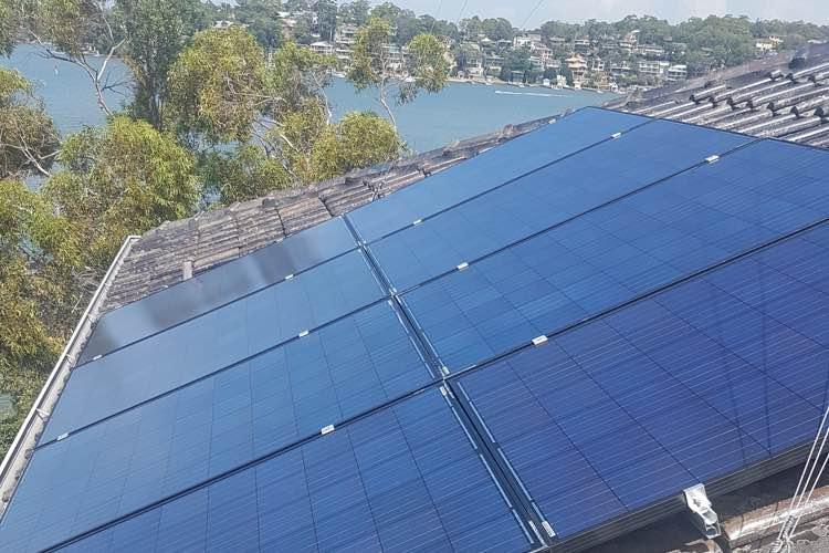 residential solar Sydney Harbour
