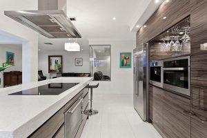 kitchen electrical job