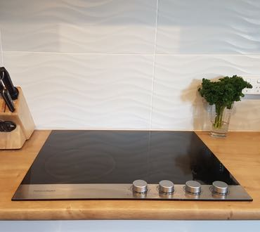 electric stove cooktop
